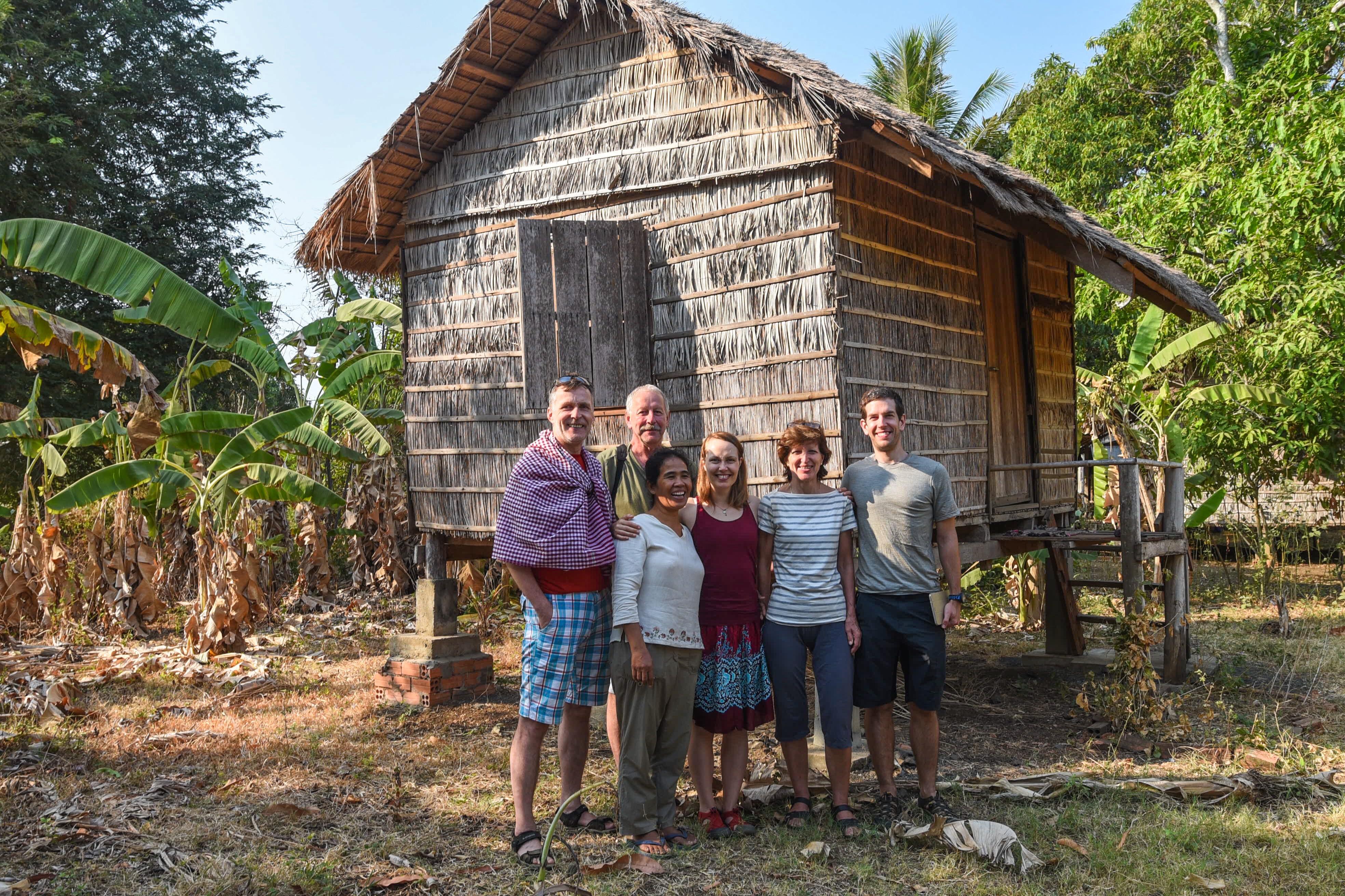 Rana homestay – Cambodia village life | Martin & Adel travel